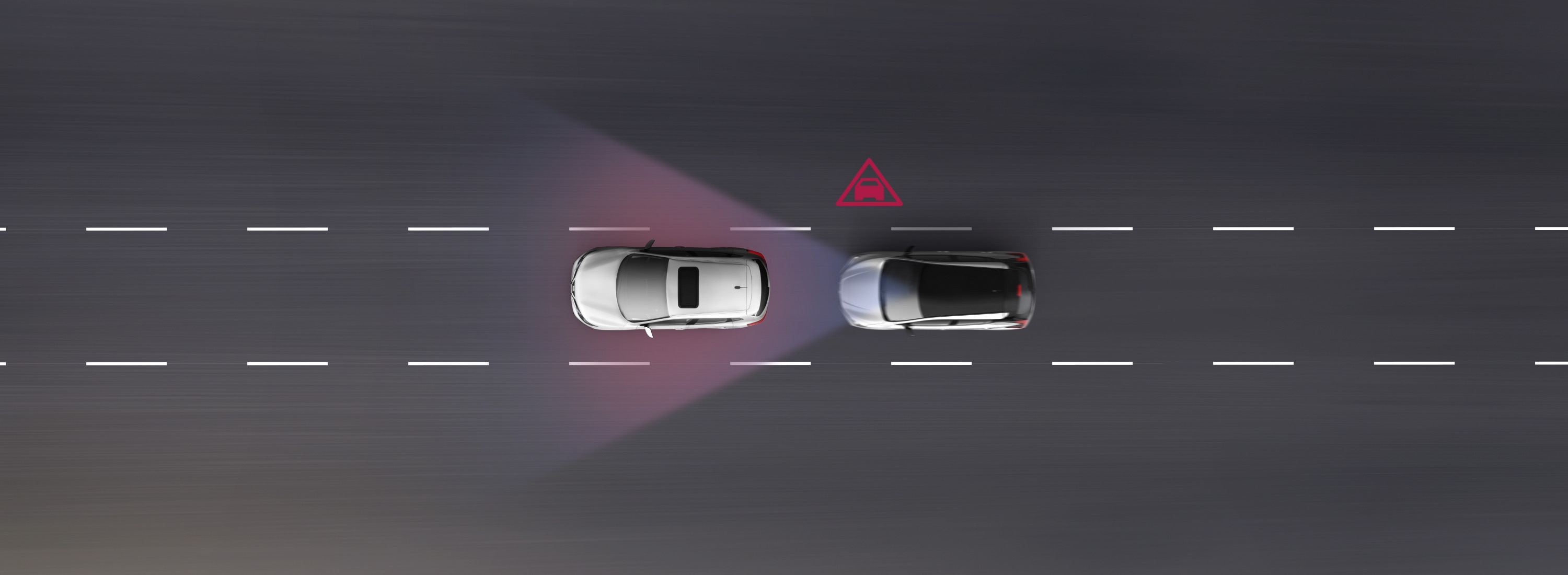Nissan LEAF Intelligent Emergency Braking animation